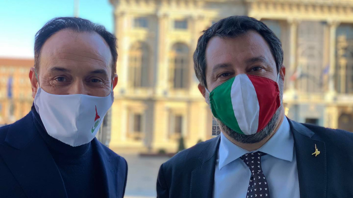 Salvini a Torino