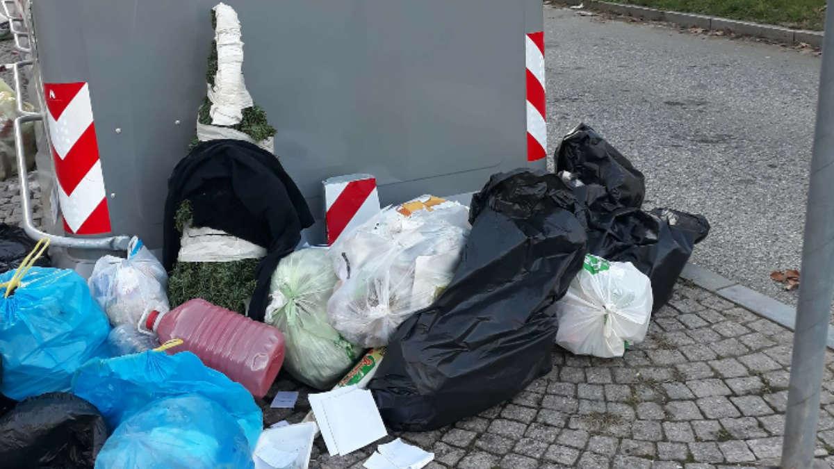 Isole ecologiche e rifiuti a Torino