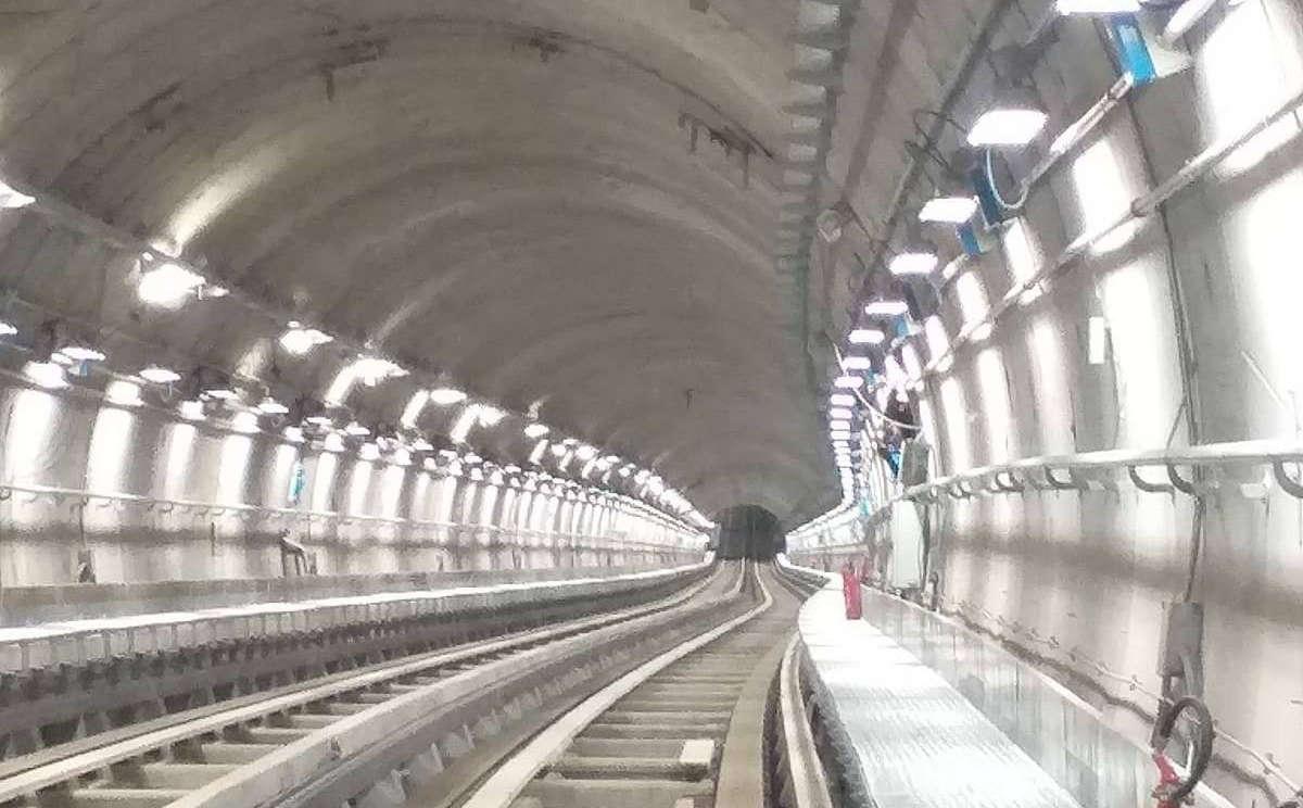 La fermata Bengasi della metro di Torino