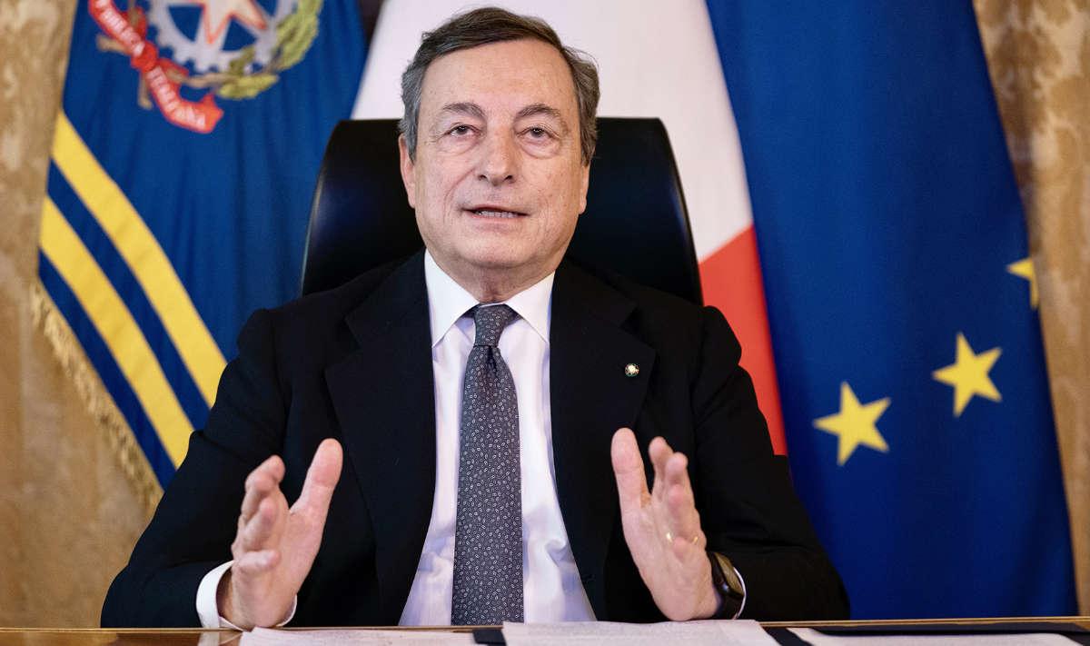 Mario Draghi e nuovo Dpcm