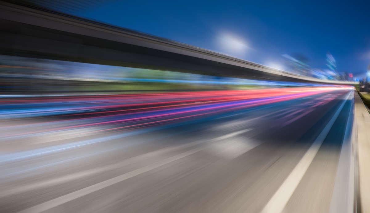 Folle velocità in via Pietro Cossa
