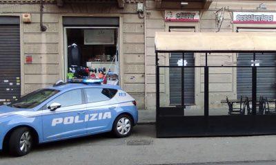 Bar chiuso dalla Polizia in via Di Nanni