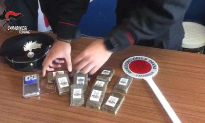 Controlli antidroga dei carabinieri
