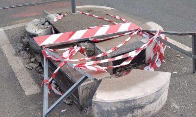 Degrado in via Borgaro