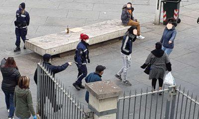 Controlli covid a Porta Palazzo