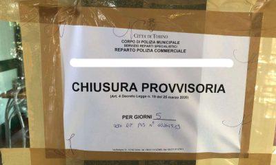 Locale chiuso a Torino