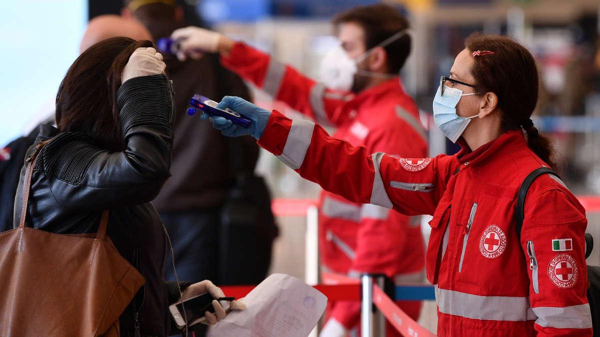 Volontari della Croce Rossa Italiana