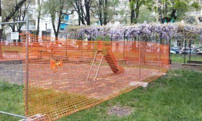 Giardino Carmelo Gamuzza di via Terni a Torino