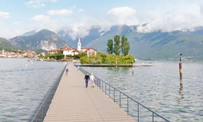 La passerella sul Lago Maggiore