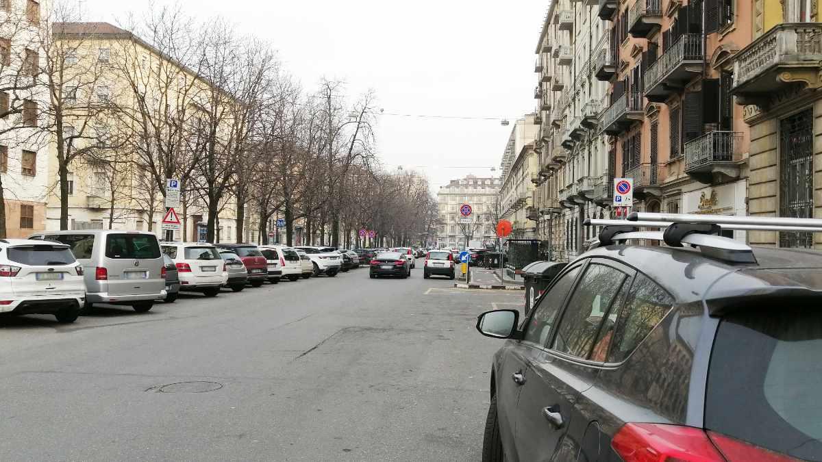 Auto a Torino