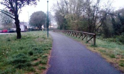 Passerella pedonale via Calabria Torino