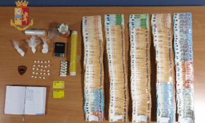 Cocaina e denaro contante