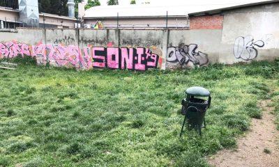 Degrado al Parco Sempione