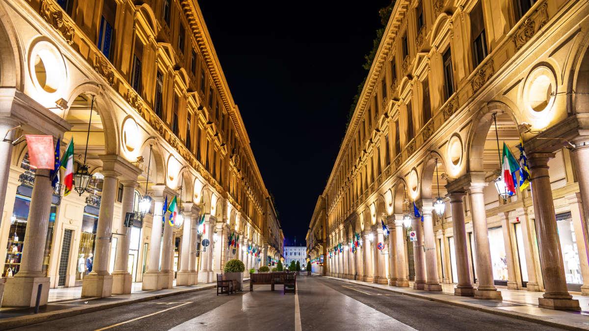 Via Roma a Torino
