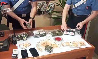 Sequestro di droga e contanti