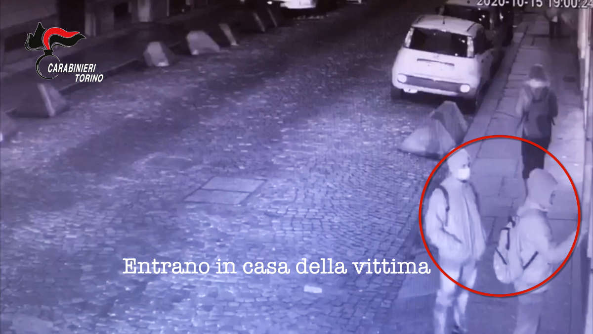 Rapina in casa a Torino