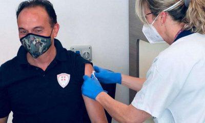 Vaccinazione Alberto Cirio