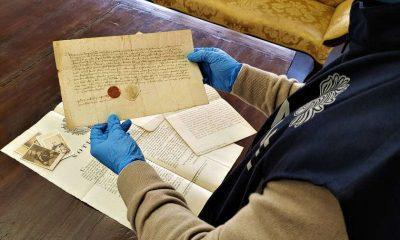 Documenti antichi recuperati dai carabinieri