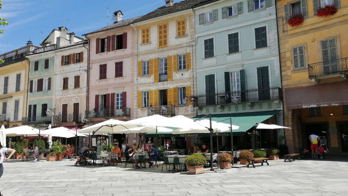Piazza Motta a Orta San Giulio