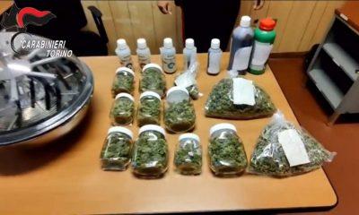 Sequestro di droga da parte dei carabinieri