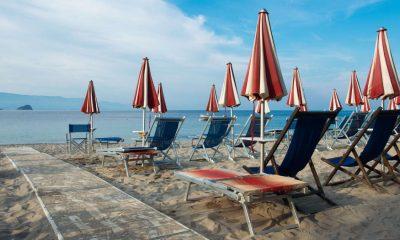 Spiaggia in Liguria