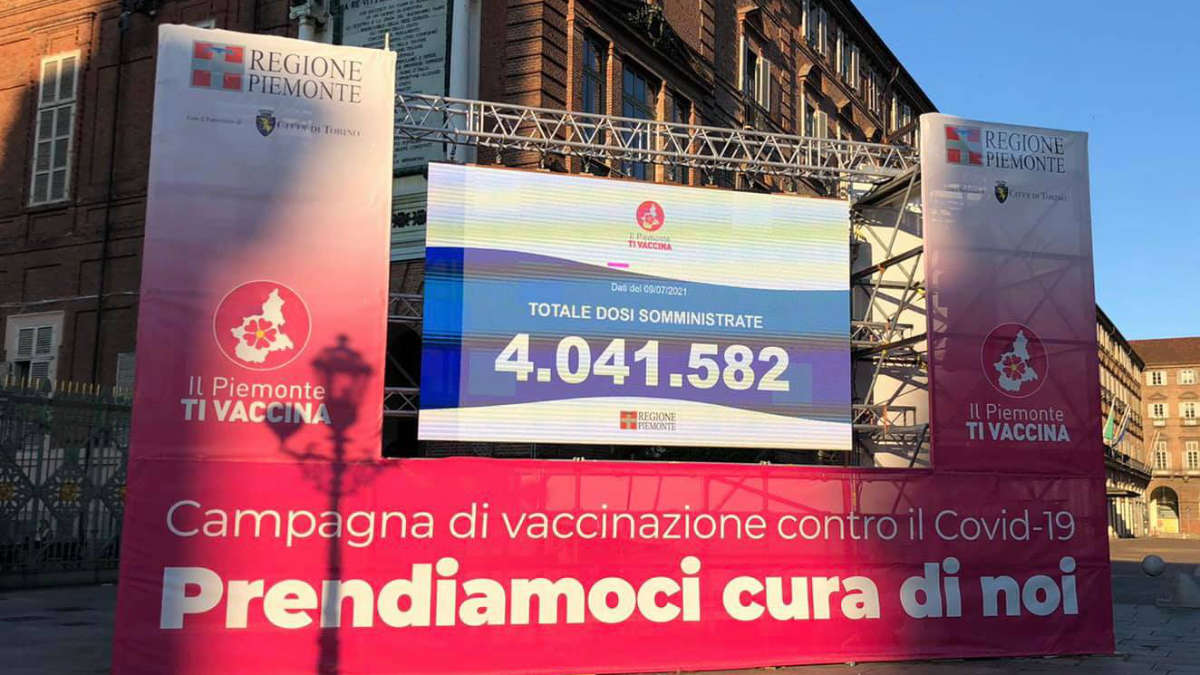 Vaccinazione in Piemonte