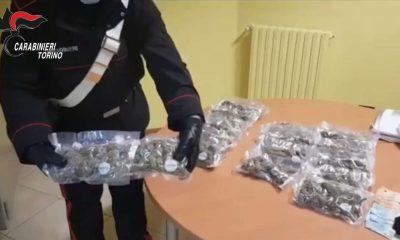 Sequestro droga a Torino