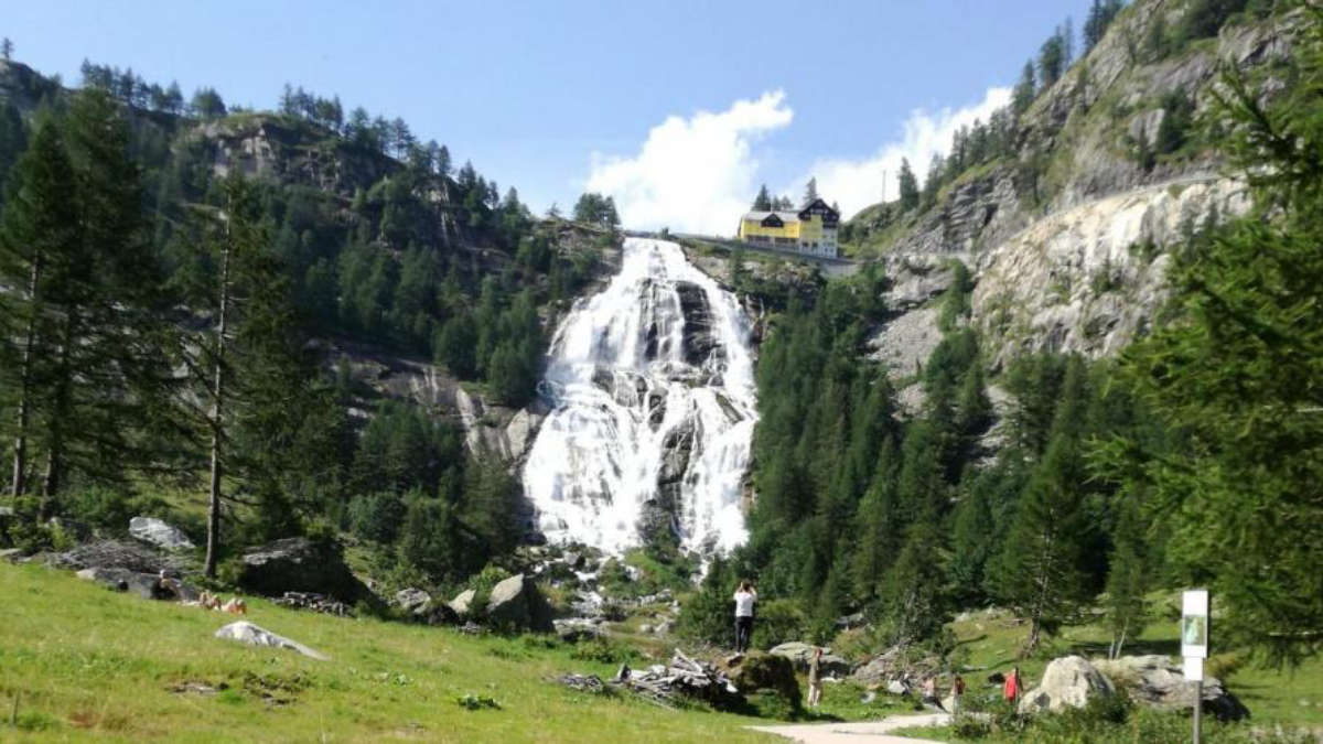 Cascate del Toce in Val d'Ossola